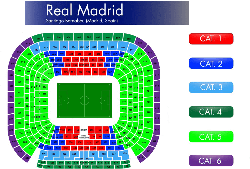 real madrid vip tickets